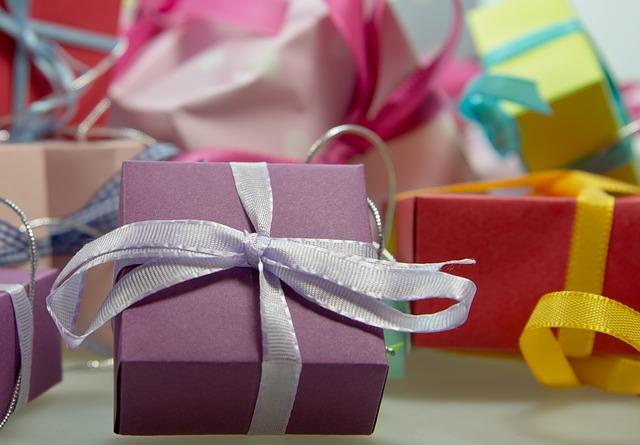 dárečky s mašličkami