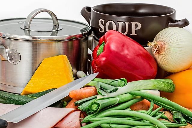 příprava polévky