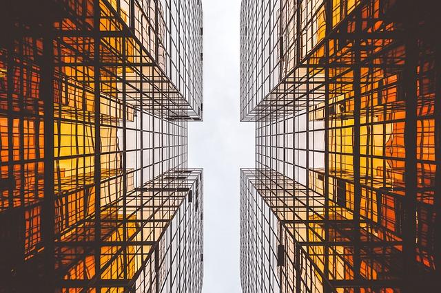 skleněný mrakodrap